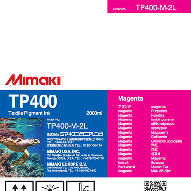 TP400-M-2L TP400 Magenta