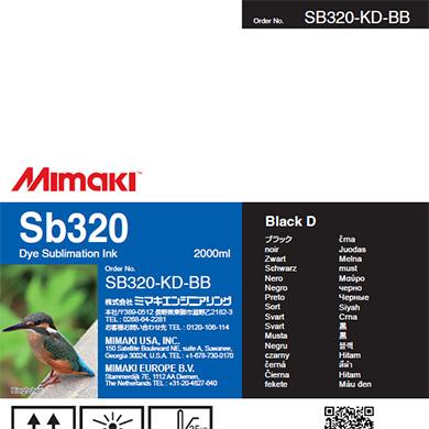 SB320-KD-BB Sb320 Black D