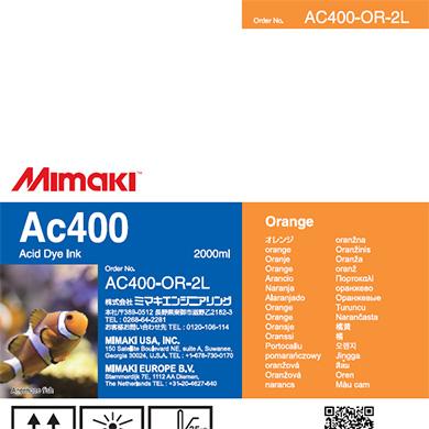 AC400-OR-2L Ac400 Orange